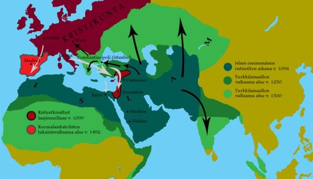 Jihadin toinen suuri aalto: turkkilaiset, v. 1071–1683
