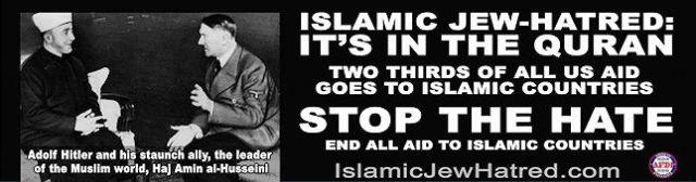 islamin-juutalaisviha-koraanissa-645Jerusalemin suurmuftilla Hajj Amin al-Husseini (1895–1974) oli merkittävä rooli natsien toimeenpanemassa juutalaisten joukkotuhossa