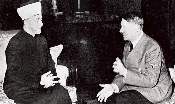 Jerusalemin suurmufti Hajj Amin al-Hussseini ja Adolf Hitler