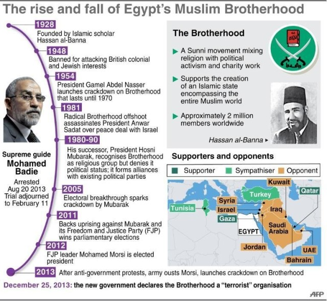 The rise and fall of Egypt's MB